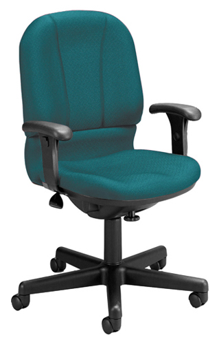 teal computer chair ikea drafting ofm 640-a posture task adjustable office