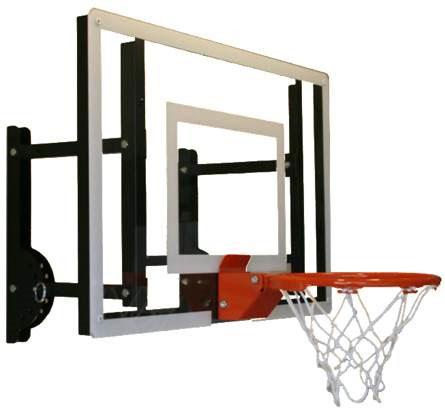 ramgoal adjustable durable indoor mini-basketball hoop and ball
