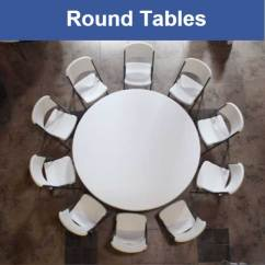 Folding Circle Chairs For Kids Room Lifetime Tables Banquet Round Card And Church