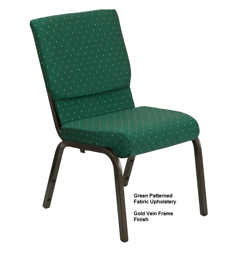 Stacking Chairs  Hercules XUCH60096 Church Chair  40 Pack