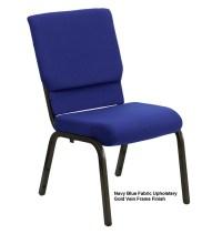 Stacking Chairs - Hercules XU-CH-60096 Church Chair - 40 Pack