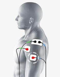 Deltoid also ems electrode pad placement  tips for muscle stim and tens rh compex
