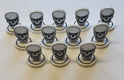 skull token batch of 12