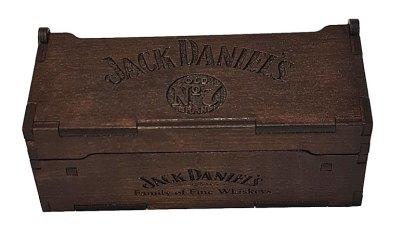 Jack Daniels box - closed