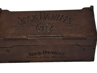 Jack Daniels box - closed