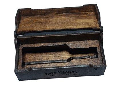 Jack Daniels box - open