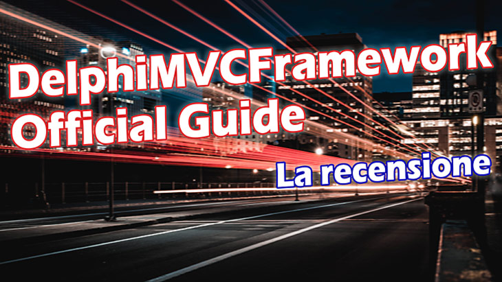 DelphiMVCFramework Official Guide - Cover
