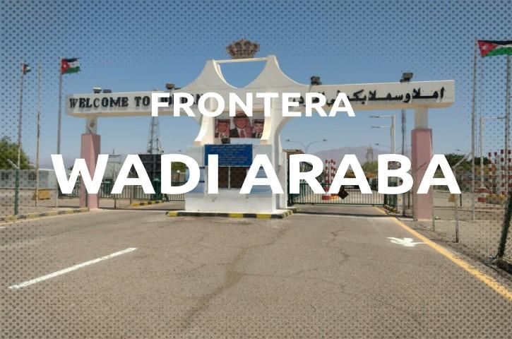 Frontera Wadi Araba entre Israel-Jordania