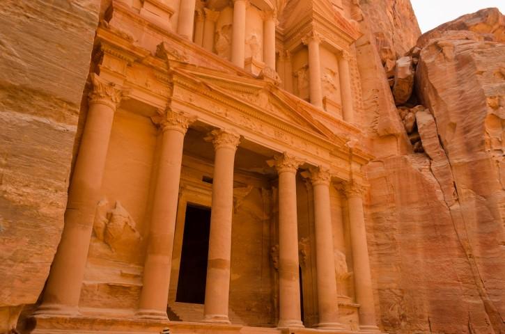 El Tesoro, Petra, Wadi Musa. Jordania.