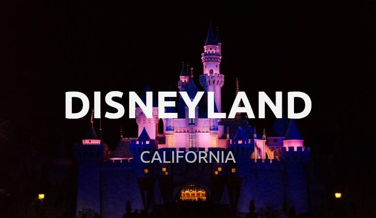 Consejos Disneyland, California.