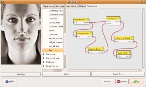 MathMap Screenshot