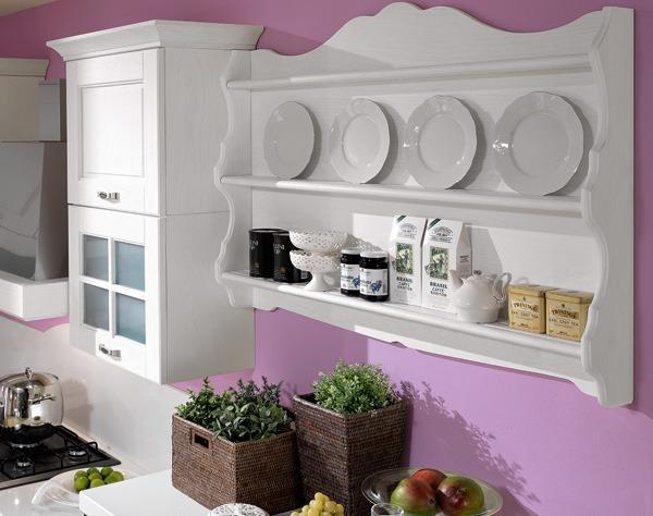 Mensole a scomparsa, installazione fai da te. Mensole Da Cucina Gusto Estetico E Funzionalita