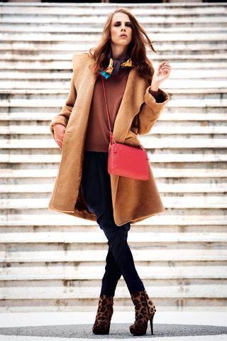 color de moda 2011 camel