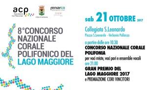 8° Concorso Nazionale Corale Polifonico del Lago Maggiore @ Collegiata S. Leonardo | Pallanza | Piemonte | Italia
