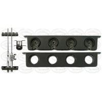 Berkley Twist Lock Horizontal Rod Rack - Holds 4 Rods