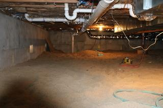 Encapsulating a Crawl Space for a New Home in Lyons, CO