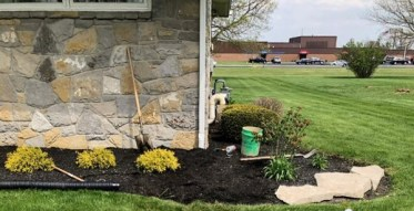 Waterproofing with Your Lawn in Mind