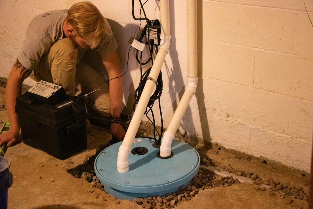 sump pump care and maintenance
