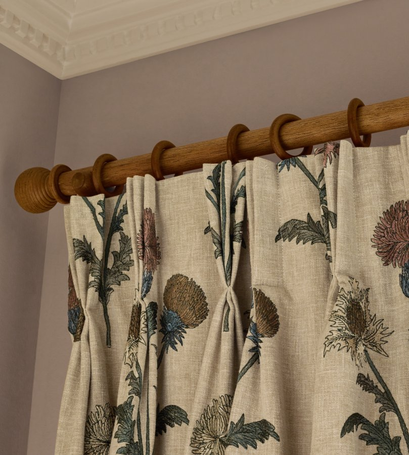 wooden curtain poles the complete