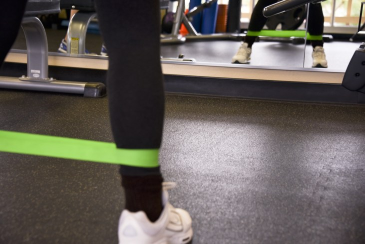 Resistance band exercises