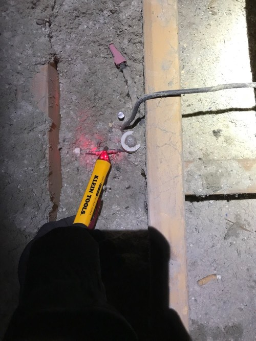 small resolution of live knob and tube wiring in old boise home attic