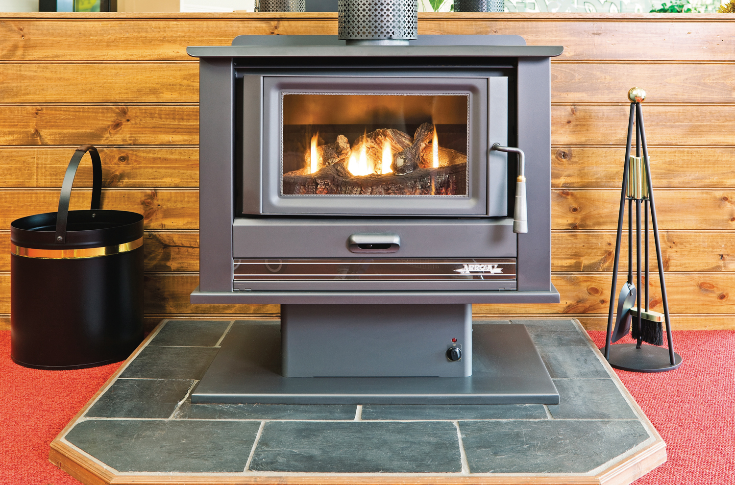 Always warm wood heaters  Completehome