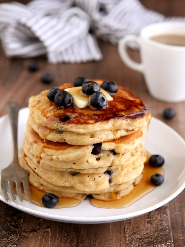 Blueberry Buttermilk Pancakes  Completely Delicious