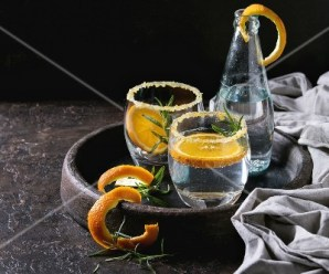 Orange, Fennel, and Rosemary Water
