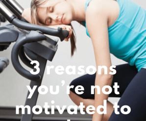 3 reasons you're not motivated to work out anymore