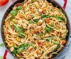 HOW TO MAKE ONE-POT CHICKEN SPAGHETTI?