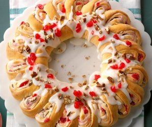 Delicious Cherry Crescent Ring