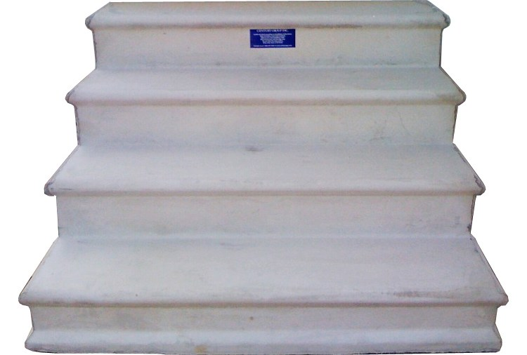 Wooden Concrete Fiberglass Steps For Mobile Homes   Ready Made Outdoor Stairs