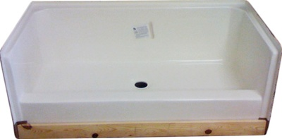 mobile home kitchen faucets sink moible shower pan 54x27 manufactured housing