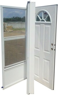 36x80 Steel Door Fan Window LH for Mobile Home ...