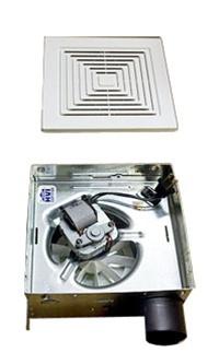 ceiling mount exhaust fan w side exhaust