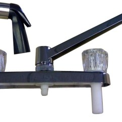 Kitchen Faucets With Sprayer No Touch Faucet For Mobile Home Manufactured Housing