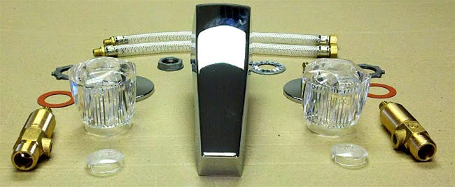 Three Piece Garden Tub Faucet for Mobile Home Manufactured