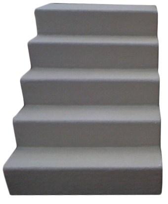 Mobile Home Fiber Glass Stairs 5 Steps For Mobile Home | Wood Mobile Home Steps | Wooden | Pool | Outdoor | 8X12 Porch | Concrete