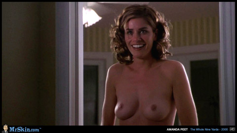 Amanda Peet The Whole Nine Yards Brown Hair Small Tits Cute