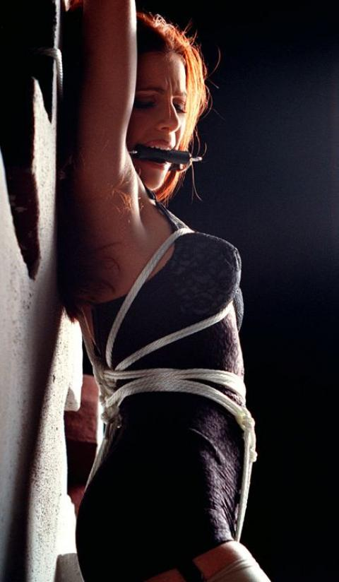 Rammelei Tied up bondage female domination both want