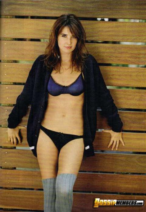 Cobie Smulders Milf Mature Showing Tits Lingerie Bombshell