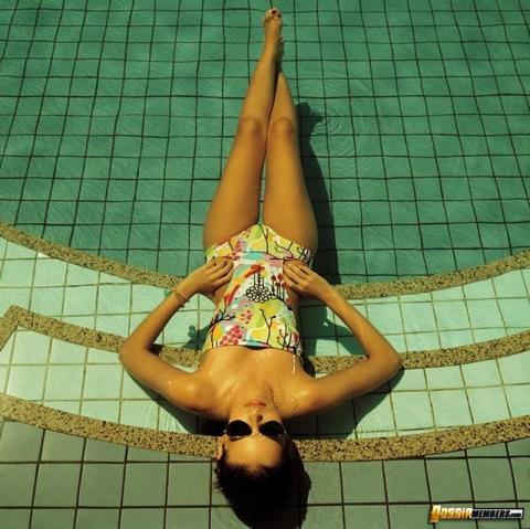 Yasmin Brunet Brazilian Sexy Scene Model Softcore Bikini Bra