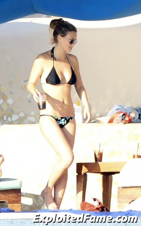 Bar Refaeli Hollywood Bar Athletic Slender Bikini Beautiful