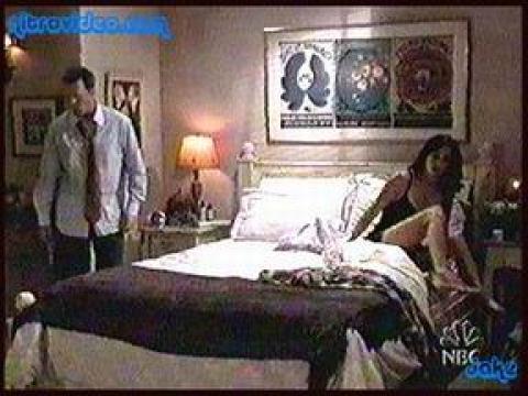 Jennifer Aniston Nude Scene Friends (tv) Lingerie Bed Horny