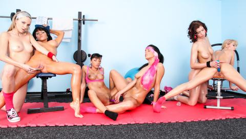 Veronica Diamond Workout Posing Hot Penetration Gorgeous Wet