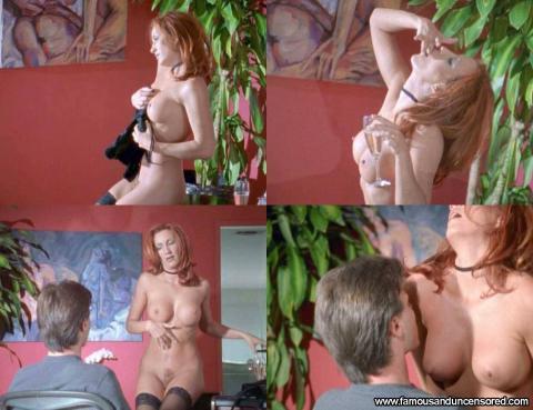 Lauren Hays Nude Sexy Scene Web Of Seduction Redhead Bus Bar