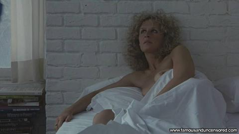 Glenn Close Fatal Attraction Fat Bar Topless Bed Nude Scene