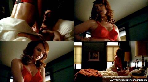 Erin Cummings Mad Men Spa Emo Bed Bra Sexy Cute Hd Gorgeous