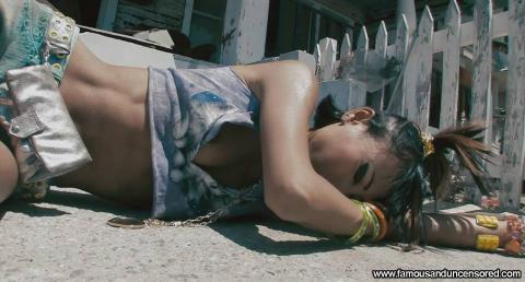 Bai Ling Stairs Wild Shirt Flashing Posing Hot Famous Hd Hot