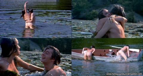 Barbara Hershey The Pursuit Of Happiness Skinny Dipping Boat